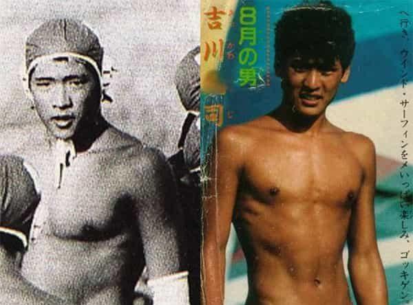 吉川晃司 若い頃 昔 画像 イケメン かっこいい 筋肉 水泳