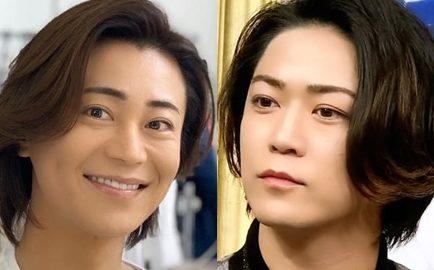 亀梨和也 佐藤健 似てる そっくり 画像比較 目 眉毛 髪型 氷川きよし